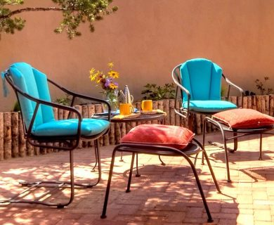Private Patio In Santa Fe Vacation Rental