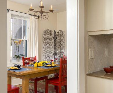 Open Concept Dining Room Santa Fe