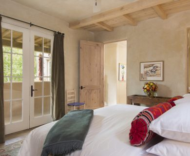 Local Santa Fe Vacation Rental Master Bedroom