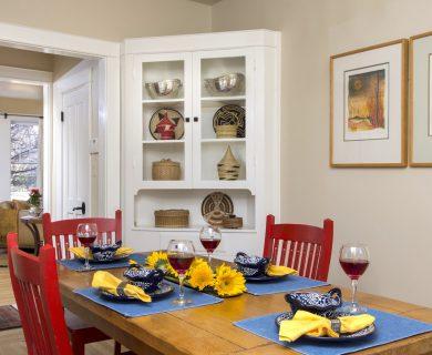 Southwest Style Dining Room Santa Fe Vacation Rental