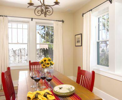 Versatile Dining Room Santa Fe Vacation Rental