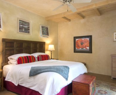 Authentic Vacation Rental Santa Fe - Master Bedroom
