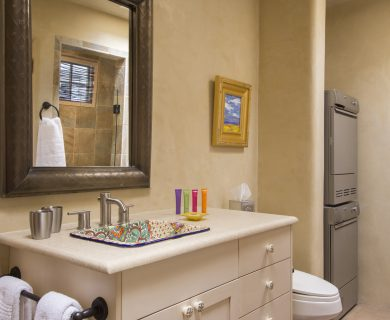 Santa Fe Vacation Rental Master Bath - Locally Owned