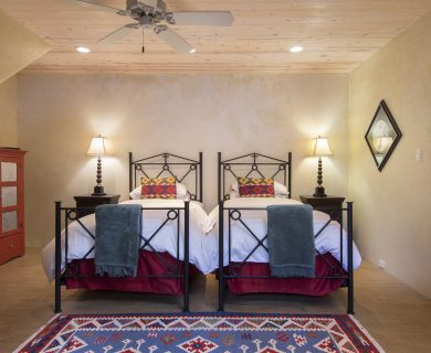 Santa Fe Vacation Rental Guest Bedroom - Locally Owned