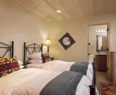 Local Santa Fe Vacation Rental Guest Bedroom