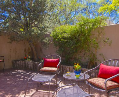 Southwest Style Vacation Rental With Private Patio Santa Fe