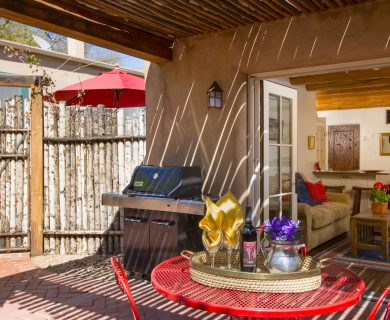 Vacation Rental With BBQ Santa Fe