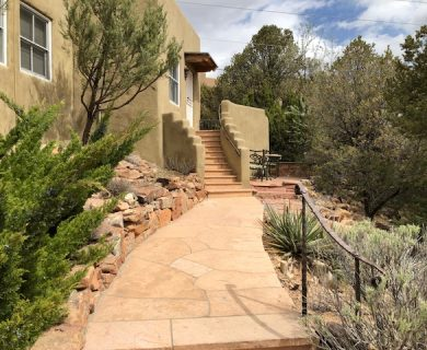 Stone Walkway Santa Fe Vacation Rental