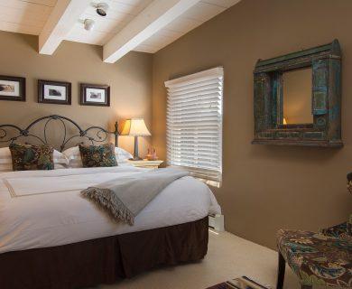 Rustic Bedroom Santa Fe Vacation Rental
