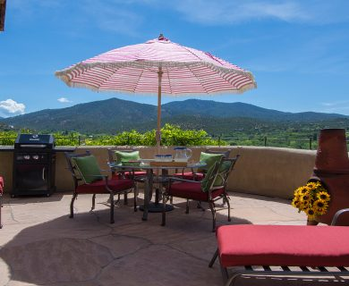 Santa Fe Vacation Rental with Grill