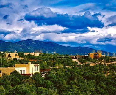 Santa Fe Landscape Image