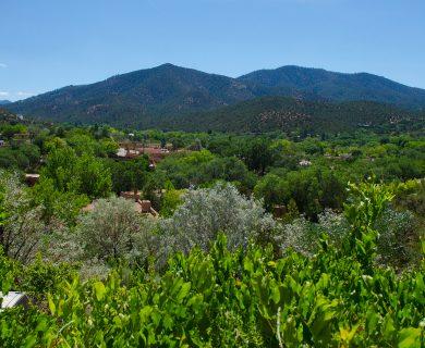 View of Santa Fe Hills