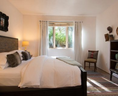 Guest Bedroom with Natural Lighting Santa Fe
