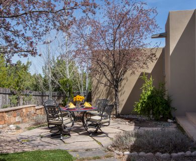 Outdoor Dining Table Santa Fe Home Rental