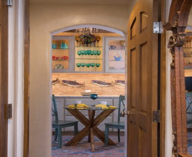 Breakfast Nook in Santa Fe Vacation Rental