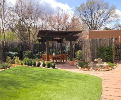Vacation Rental with Gazebo in Santa Fe