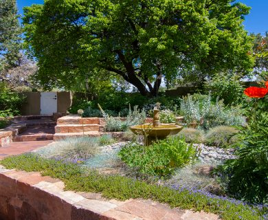 Santa Fe Vacation Rental With Blooming Garden