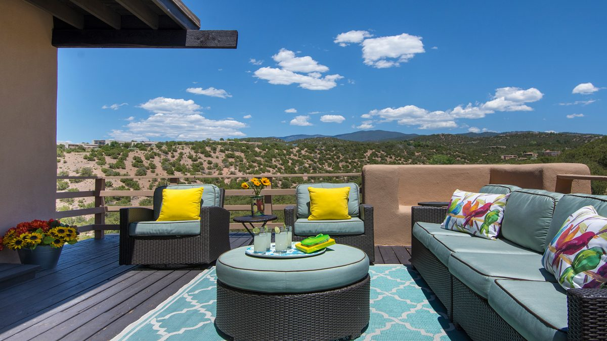 Santa Fe Vacation Rental with Open Outdoor Living Space