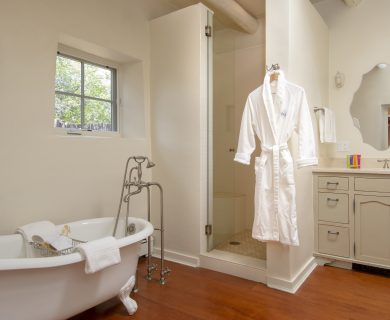 Vacation Rental Master Bathroom Aqui Santa Fe