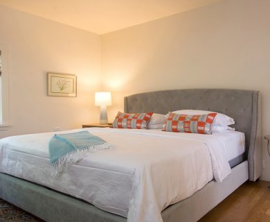 Santa Fe Vacation Rental Guest King Bedroom