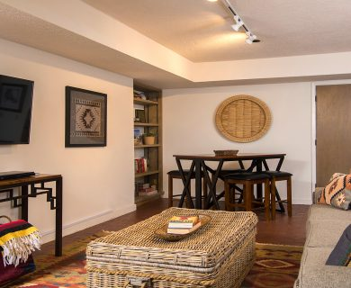Santa Fe Vacation Rental with Complete Entertainment Room