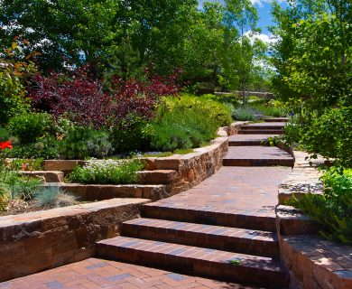 Santa Fe Vacation Rental Beautiful Walkway