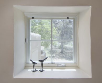 Santa Fe Luxury Vacation Rental Living Room Window