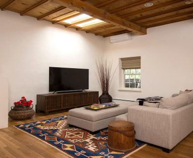 Santa Fe Vacation Rental with Media Room