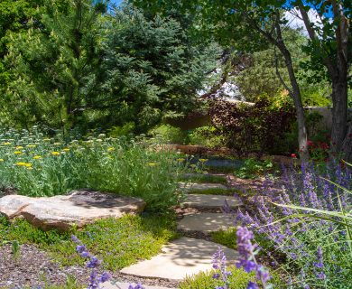 Santa Fe Vacation Rental with Garden