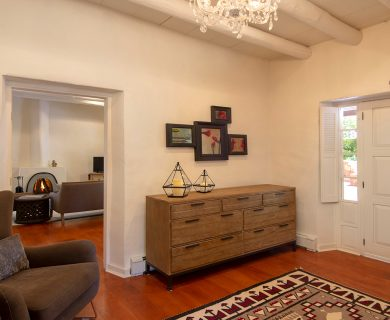Santa Fe Vacation Rental Wide Door