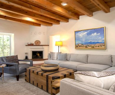 Santa Fe Vacation Rental With Blanket Chest