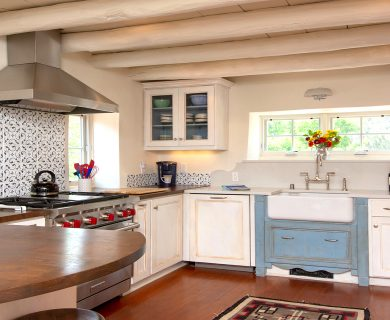 Santa Fe Vacation Rental Southwest Style Kitchen