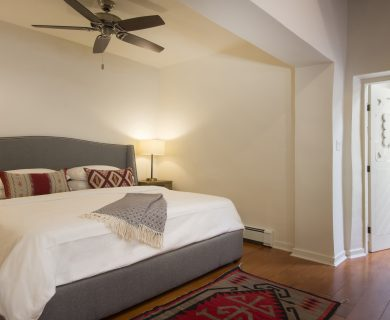 Santa Fe Luxury Home Rentals Master Bedroom - Bed - Ensuite
