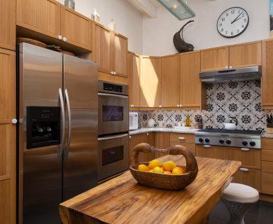 French Door Refrigerator and Double Decker Oven