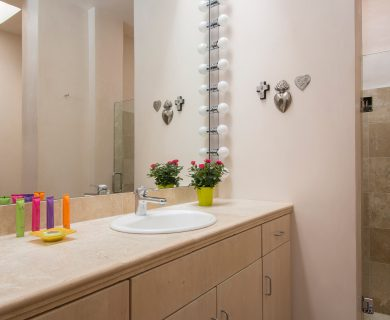 Guest Bathroom With A Bath